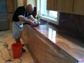 Kitchen countertop restoration, Paul