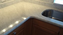 marble counter top home
