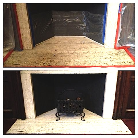 fireplace facing cleaning service ma - Fireplace Facing Cleaning Service Ma » Boston Stone Restoration