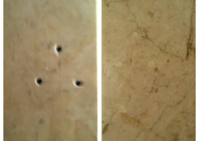 marble repair before and after