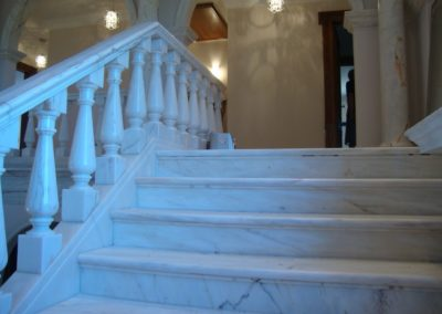 marble stairway cleaning