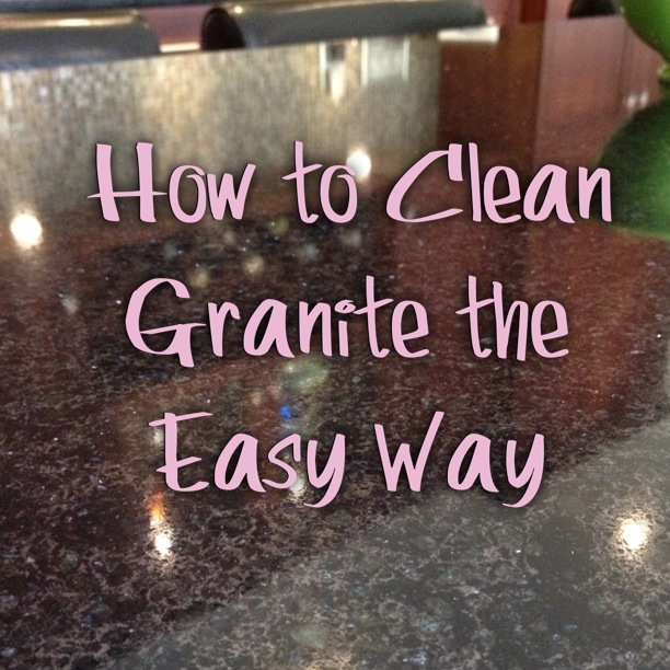 Video how to clean a granite countertop ehow autos post for Best way to clean slabs