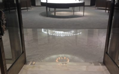 White glove stone care for high end retail & clubs