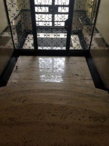 marble foyer building clean boston