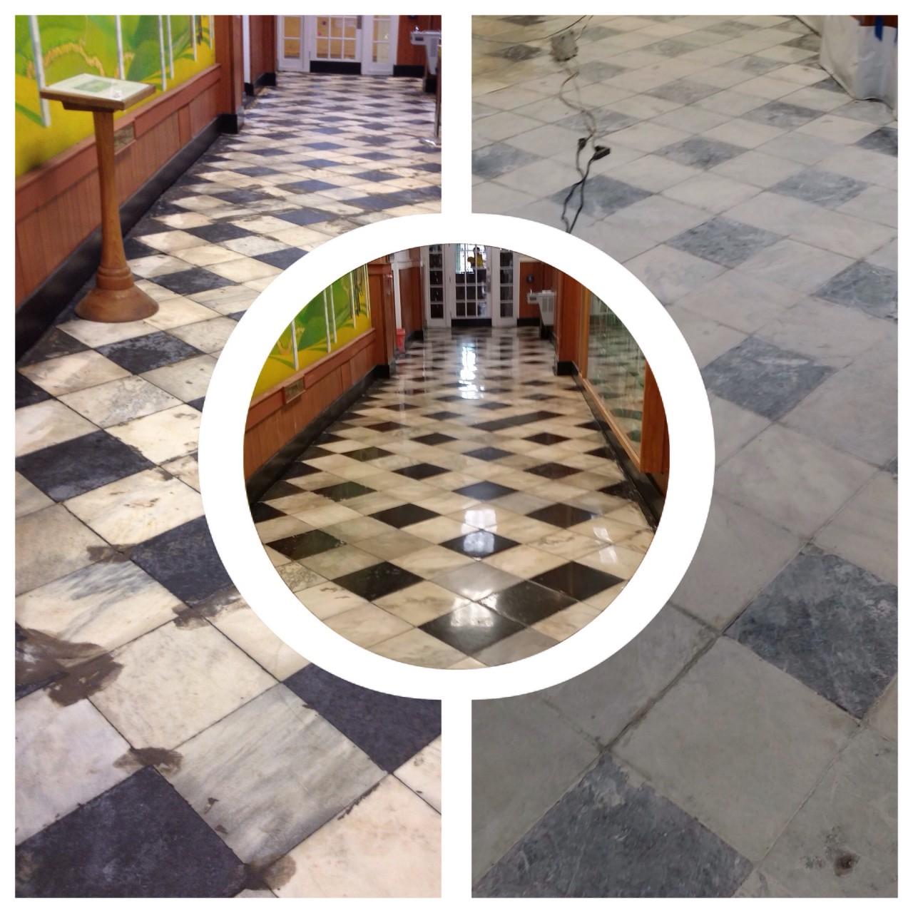 Marble Floor Repair : Marble polishing stone tile restoration residential