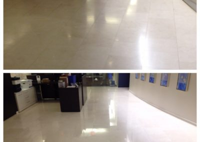 Office floor marble polished boston mass
