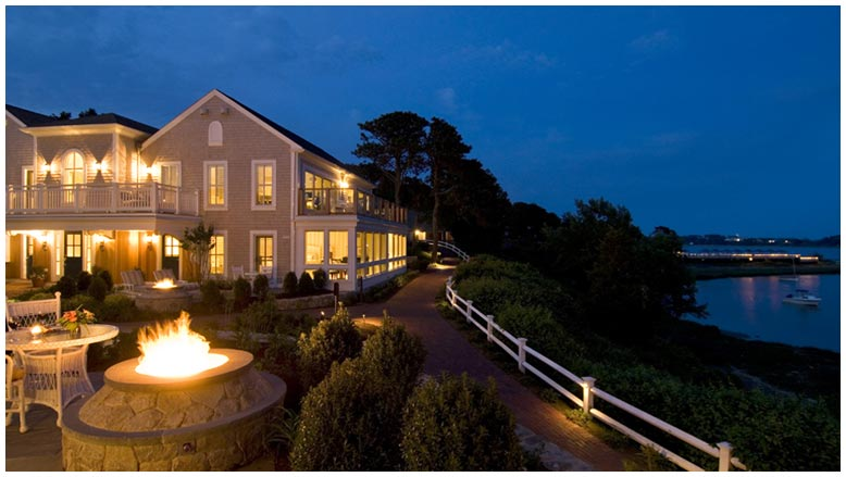 We get high marks from Cape Cod luxury resort